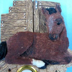 Horse Equestrian Doorbell Door Bell Illuminated